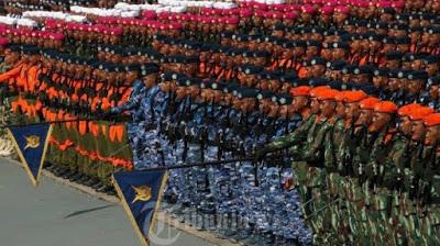 TNI JADI LEMBAGA NEGARA PALING DIPERCAYA PUBLIK, POLRI DAN DPR RI KALAH JAUH