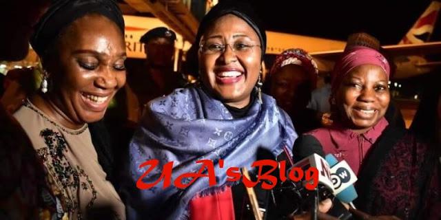 Aisha Buhari cautions Nigerians against spreading fake news