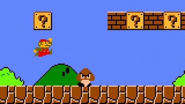 Hasil gambar untuk Game Super Mario Telah Kena Hack