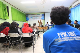 Wali Kota Tarakan Menjadi Pemateri Dalam Latihan Kepemimpinan Mahasiswa Fakultas Perikanan dan Ilmu Kelautan UBT - Tarakan Info