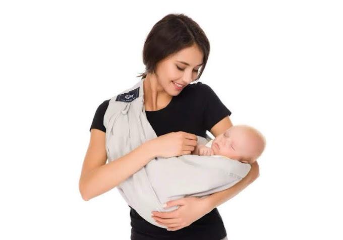 【絕世好 B】日本 Cuby 多段式嬰兒揹帶 父母必備好物