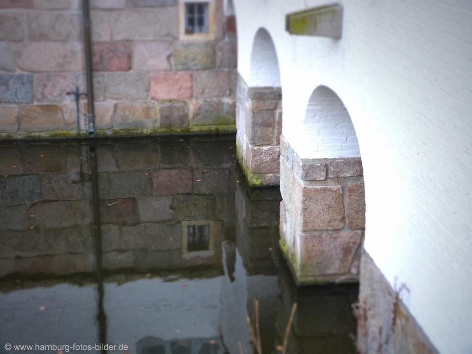 Schloss Ahrensburg, Schlossgraben, Burggraben