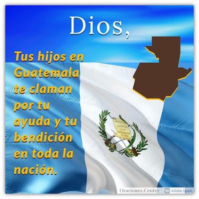Oraciones para Guatemala