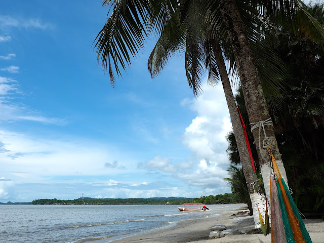 Playa Blanca, Lake Izabal, Guatemala