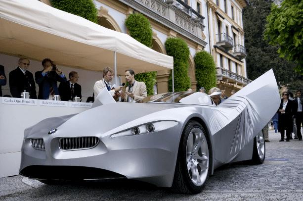Desain Mobil Masa Depan BMW Gina