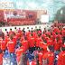 32 Pengurus Ranting PDI Perjuangan Kecamatan Gunungsitoli Dilantik