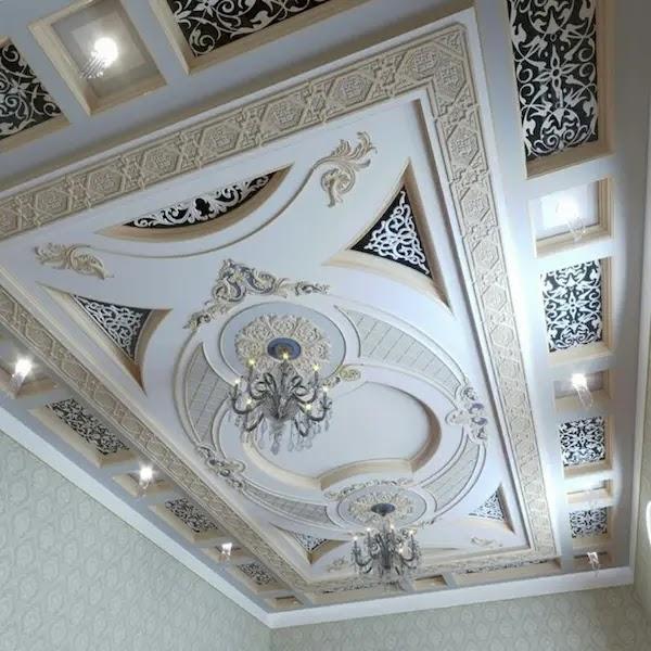 ديكور جبس مغربي للاسقف تصاميم ساحرة تجمع العصرنة بالأصاله