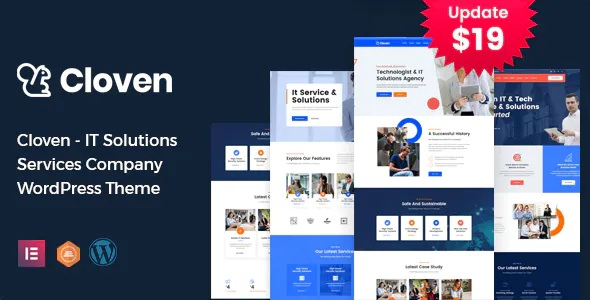 Best IT Solutions Services Company WordPress Theme