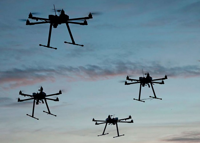 drones temara coronavirus