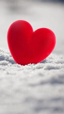 صورة قلب لونه احمر جميلة جداً
