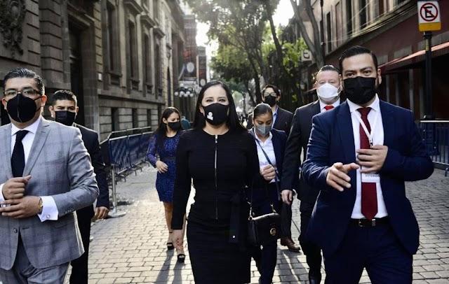 CON LA JEFA DE GOBIERNO DE LA CDMX, CLAUDIA SHEINBAUM HABRÁ TRABAJO COORDINADO POR EL BIEN DE LOS CIUDADANOS: SANDRA CUEVAS
