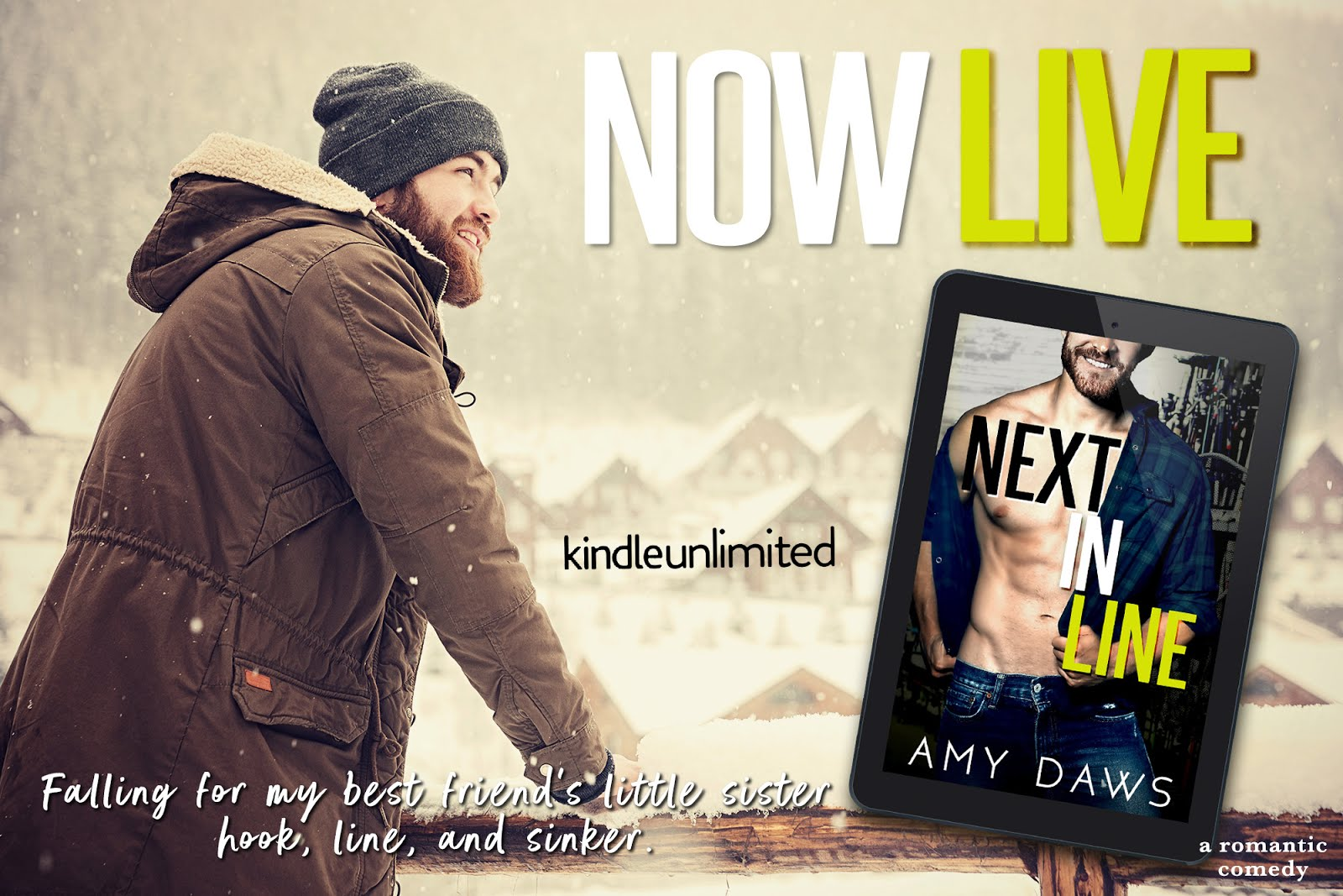 Next In Line Review Blitz & Giveaway