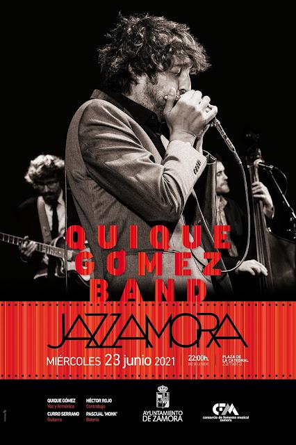 Quique Gómez Band Zamora jazz 2021