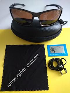 Поляризаційні сонце-захисні окуляри (коричневі 101)