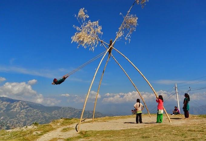 Ping In Nepal: The Amusement Rides During Festivals