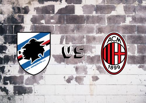 Sampdoria vs Milan  Resumen y Partido Completo