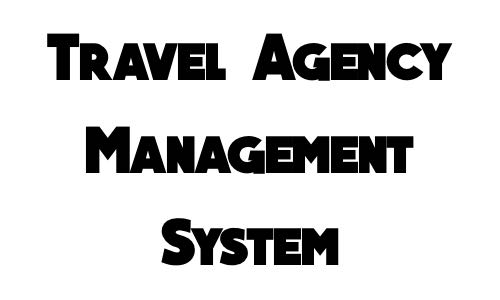 Travel Agency Management System in c