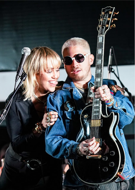 Mylie Cyrus and Andrew Watt