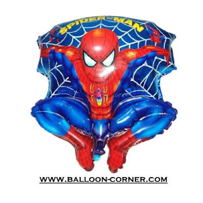 Balon Foil Spiderman Jaring