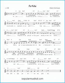 chord perfidia lagu jazz standar