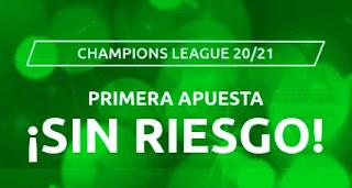 Mondobets apuesta sin riesgo champions 16-17 febrero 2021