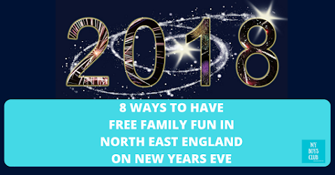 8 Ways to have Free Family Fun on New Year's Eve in North East England