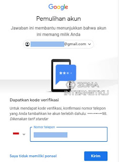Cara Mudah Untuk Memulihkan Akun Gmail Yang Lupa Password Dengan Nomor Telepon 3