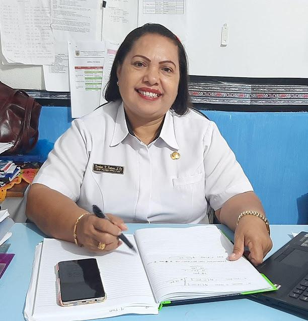 Karolina Kudmas Harap Orangtua Dukung Ujian Akhir 53 Siswa SD Inpres Saumlaki