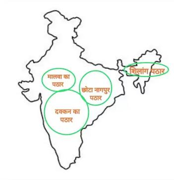 भारत के पठार