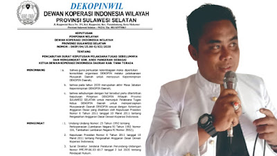 Milenial Nakhodai Dewan Koperasi Indonesia Wilayah Sulawesi Selatan Kabupaten Tana Toraja