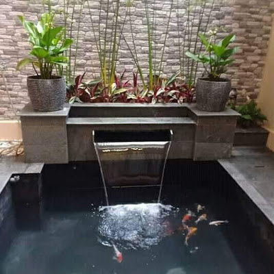 jasa pembuatan kolam koi minimalis di sidoarjo tukang
