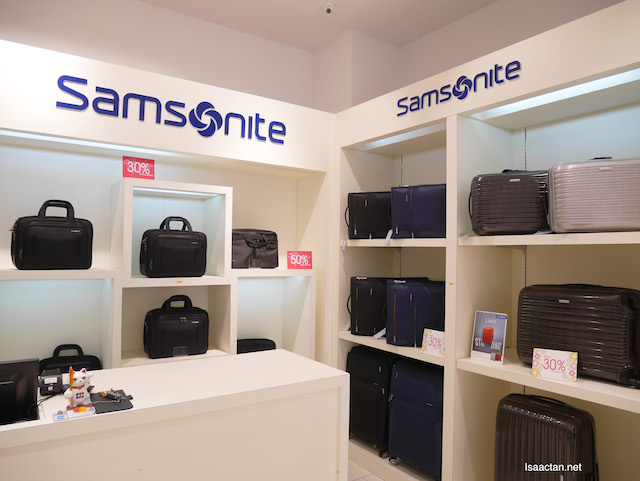 Samsonite bags, anyone?