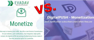 Comparación Evadav vs DigitalPush