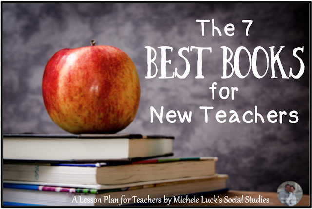 The very best books for new teachers. These books help with classroom management, team-building, professional development, and even self-motivation!