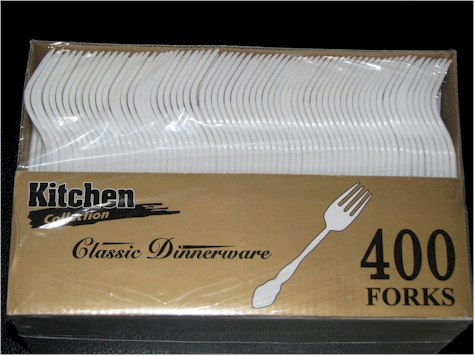 Daily Cheapskate: 400-count of disposable forks, soup spoons or ...