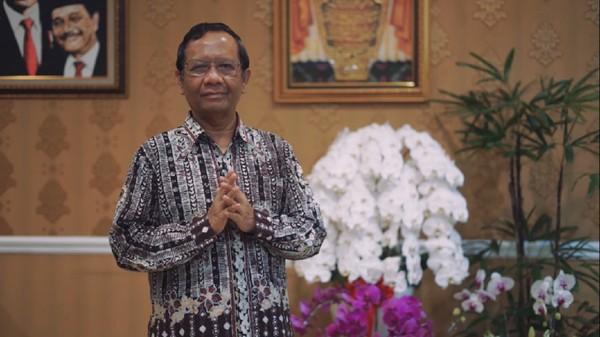 Mahfud Ungkap Pandangan Purn TNI: Tafsir Pancasila Tak Tepat Dimuat dalam UU