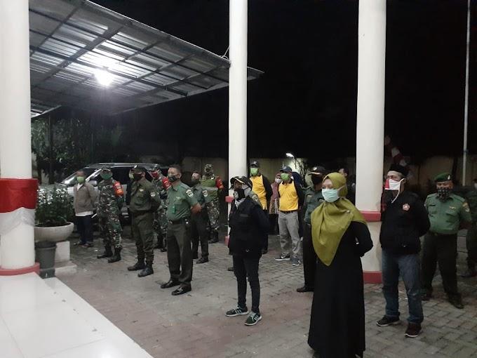 Malam Takbiran, Tiga Pilar Kecamatan Cilodong Patroli Bersama