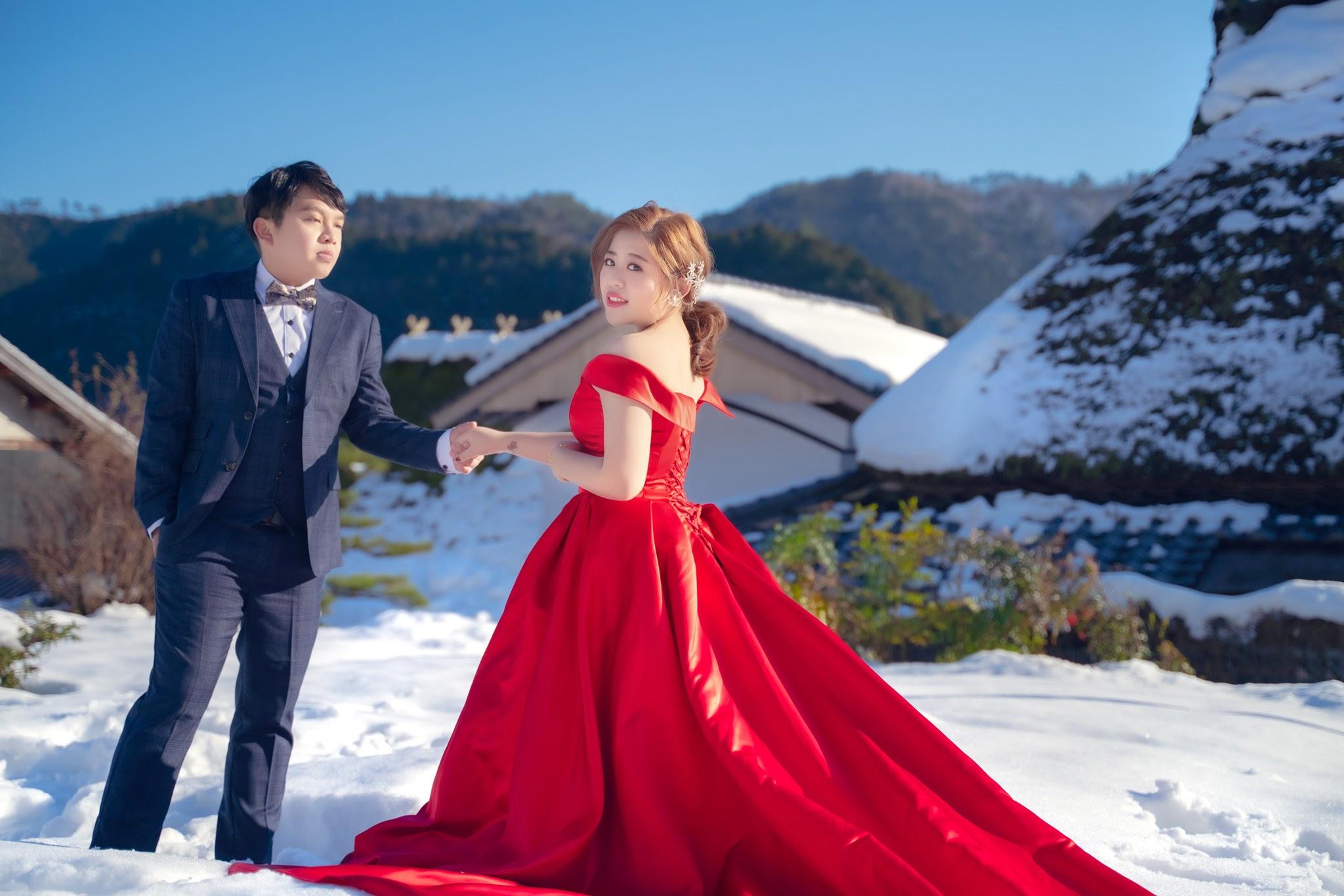 二年版 日本京都遊玩 瑪朵婚紗 日本婚紗推薦 楓葉和服婚紗 清水寺 鴨川 嵐山 合掌村