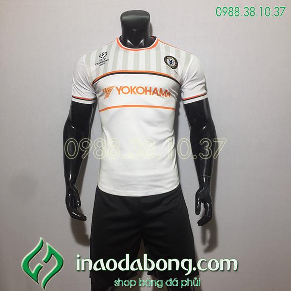 Áo bóng đá training CLB Chelsea màu trắng 2020