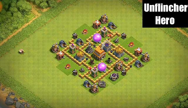 Town Hall 5 Th5 War Base Layout