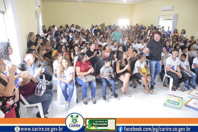 Prefeito Elmo Aguiar entrega premiações aos ganhadores dos projetos 'Redamil', 'Eu Chego Lá' e 'Leitores Brilhantes' 2019
