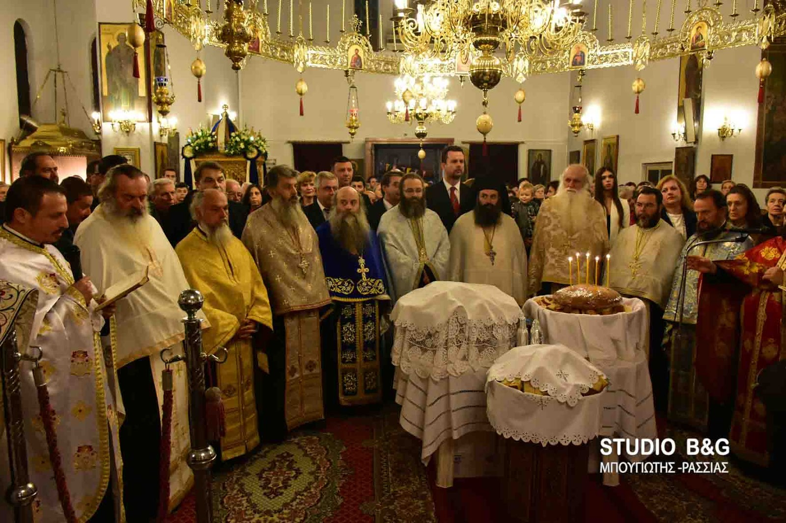 Η εορτή του Ευαγγελισμού της Θεοτόκου στα Φίχτια Αργολίδος