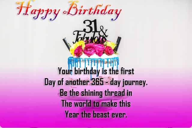 Happy Birthday Wishes Sms