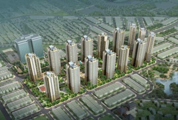 Phối cảnh dự án liền kề Daewoo Cleve Văn Phú Hà Đông