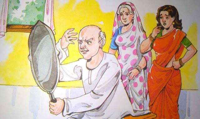 दो पत्नियां ( Story For Moral In Hindi )