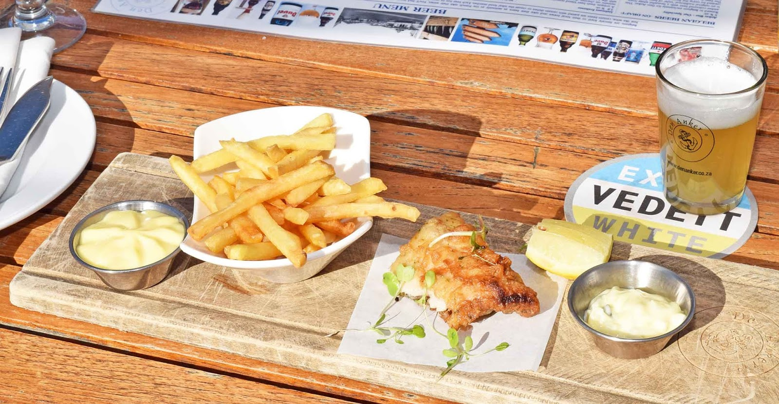 New winter menu at den anker v a waterfront for Ankers fish fry