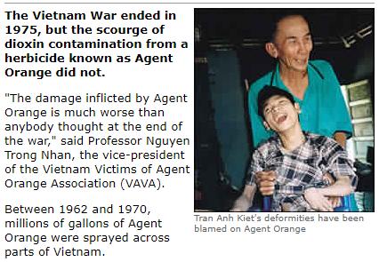 Vietnam's war against Agent Orange