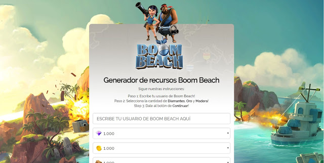 Boom Beach Landings Page CPA