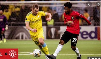 FC Astana 2-1 Manchester United Europa league highlight