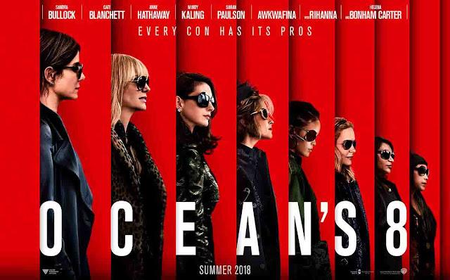 فيلم الجريمة Ocean's 8 يقود صدارة البوكس أوفيس والمنتقمون الحرب اللانهائية يحطم عتبة الملياري دولار عالميا
